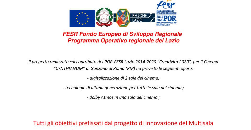 Fesr fondo europeo di sviluppo regionale 1