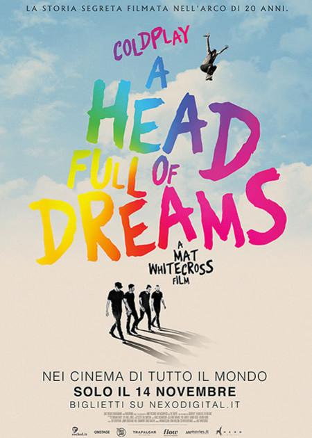 COLDPLAY:A HEAD FULL OF DREAMS
