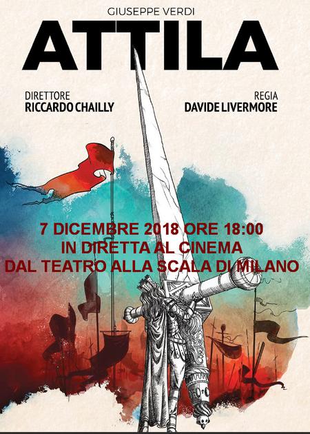 Attila in diretta dal Teatro alla Scala