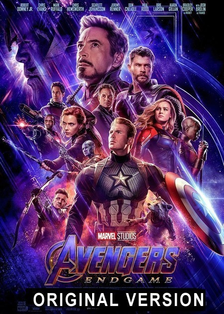 AVENGERS ENDGAME-ORIGINAL VERSION
