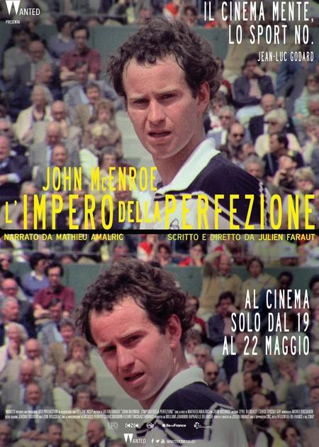 JOHN MCENROE - L'IMPERO DELLA PERFEZIONE