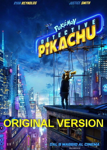POKEMON DETECTIVE PIKACHU-ORIGINAL VERSION