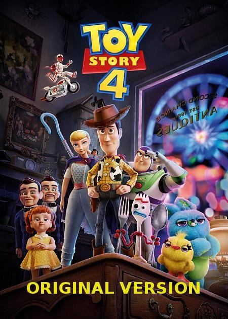 TOY STORY 4 - ORIGINAL VERSION