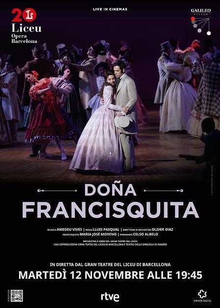 DONA FRANCISQUITA-LIVE DA BARCELLONA