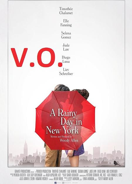 A RAINY DAY IN NEW YORK (ORIGINAL LANGUAGE)