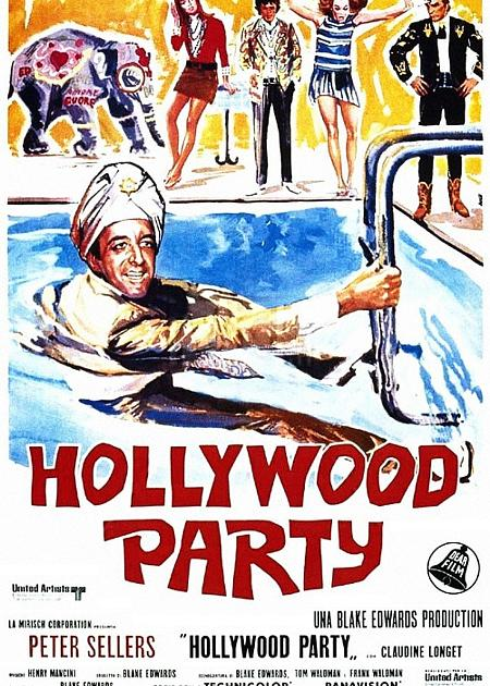 HOLLYWOOD PARTY (THE PARTY) (RIED.)