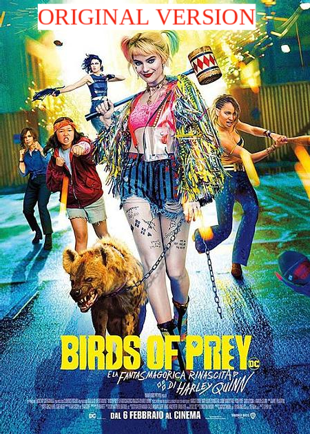 BIRDS OF PREY ORIGINAL VERSION