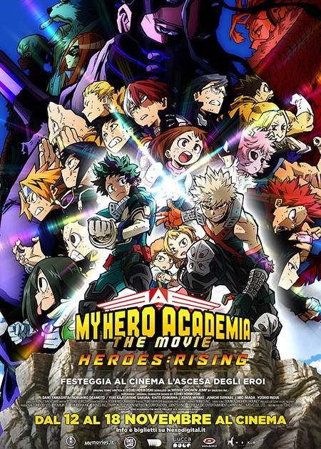 MY HERO ACADEMIA THE MOVIE 2 - HEROES: RISING